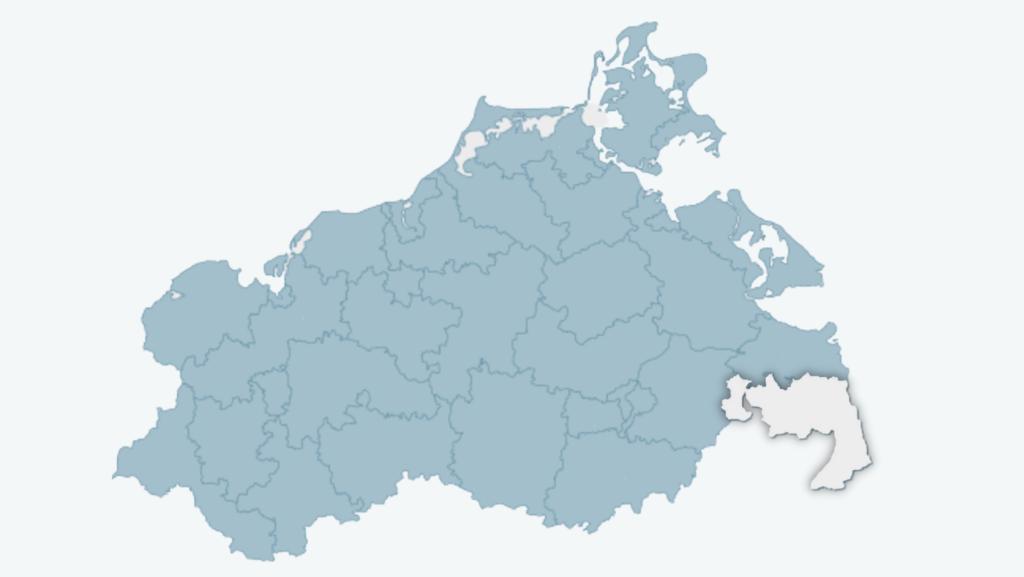 Wahlkreis 36 - Südliches Vorpommern